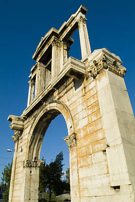 Hadrians Arch In Athens, Greece Poster