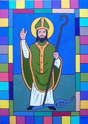 Hail Glorious Saint Patrick Poster by Eamon Reilly