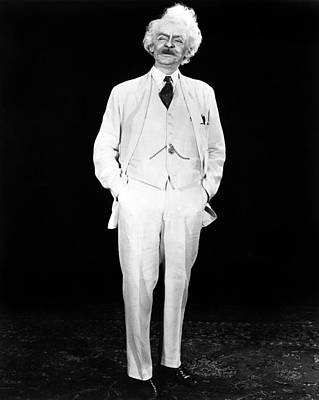 Hal Holbrook As Mark Twain In An Poster by Everett