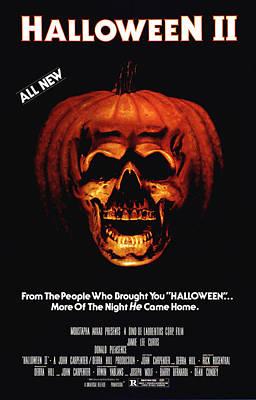 Halloween II, 1981 Poster by Everett