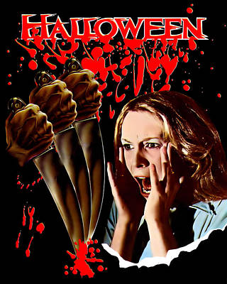Halloween, Jamie Lee Curtis, 1978 Poster by Everett
