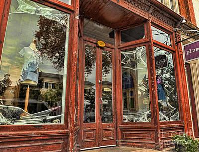 Halloween Storefront - Shepherdstown Wv Poster