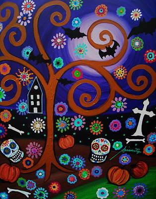 Halloween Time Poster by Pristine Cartera Turkus