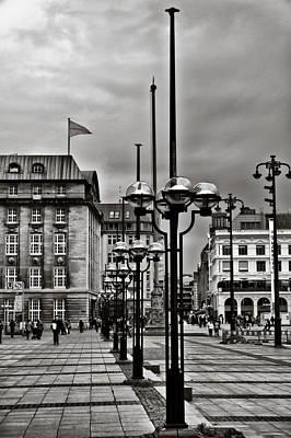 Hamburg Walk Poster by Edward Myers