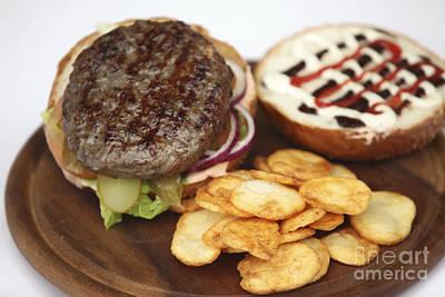 Hamburger  Poster by PhotoStock-Israel