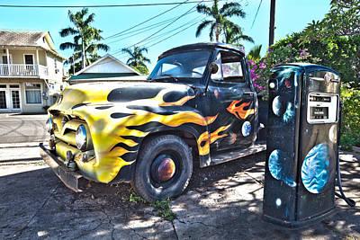 Hanapepe Truck Poster