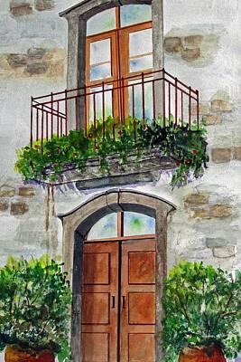 Hanging Garden Poster