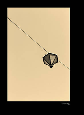 Hanging Light Poster by Xoanxo Cespon
