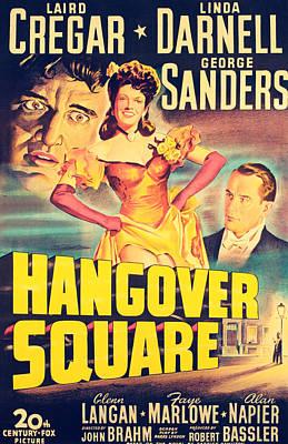 Hangover Square, Laird Cregar, Linda Poster by Everett