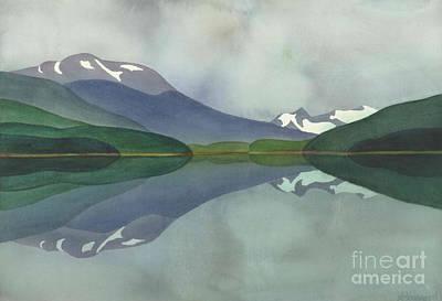 Hankin Lake Poster by Anne Havard