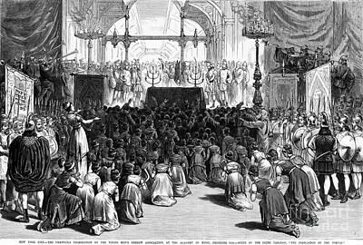 Hannukah Celebration, 1880 Poster by Granger