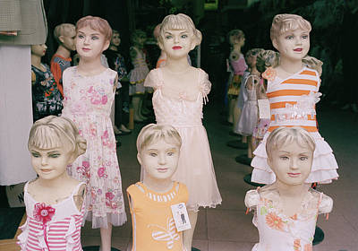Hanoi Mannequins Poster by Shaun Higson