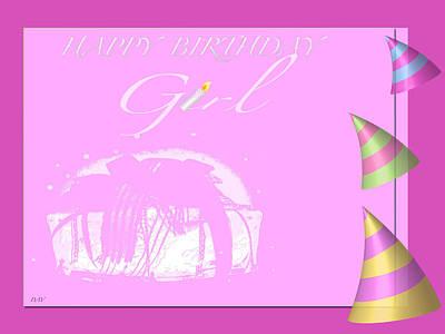 Happy Birthday Girl Poster
