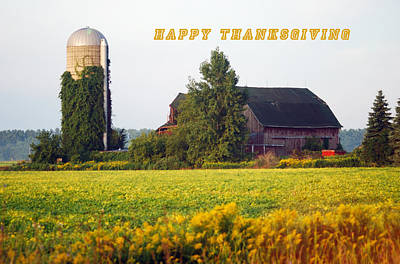 Happy Thanksgiving Poster by Michael Peychich