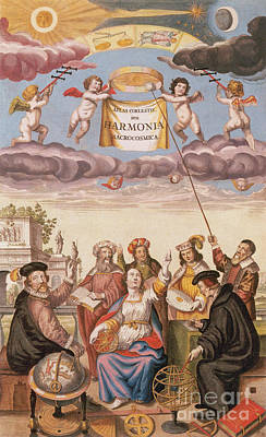 Harmonia Macrocosmica Frontispiece Poster