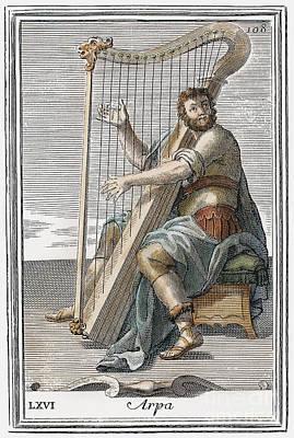 Harp, 1723 Poster by Granger