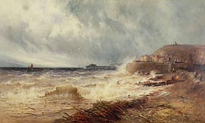 Hastings Poster by Gustave de Breanski