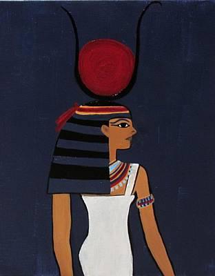 Hathor Poster by Diana Martinez