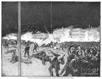 Haymarket Riot, 1886 Poster by Granger