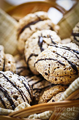 Hazelnut Cookies Poster by Elena Elisseeva