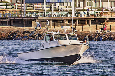 Hdr Boat Boats Sea Ocean Fishing Jetty Boadwalk Photos Pictures Photography Scenic Landscape Pics Poster