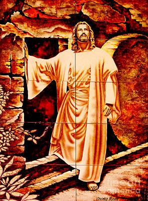He Is Risen Poster by Al Bourassa