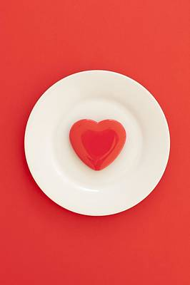 Heart Healthy Diet, Conceptual Image Poster by Ian Hooton