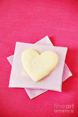 Heart-shaped Cookie Poster