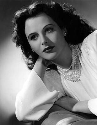 Hedy Lamarr, 1942, Photograph Poster