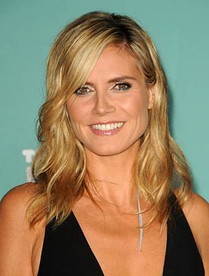 Heidi Klum In Attendance For Teennick Poster by Everett