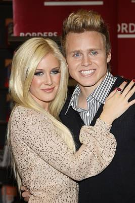 Heidi Montag, Spencer Pratt At In-store Poster