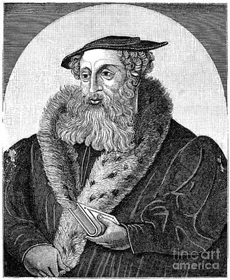 Heinrich Bullinger Poster by Granger