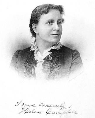 Helen Stuart Campbell (1839-1918) Poster by Granger