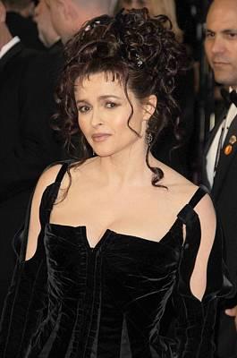 Helena Bonham Carter At Arrivals Poster
