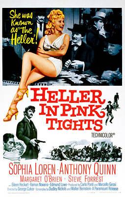 Heller In Pink Tights, Sophia Loren Poster