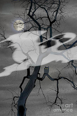 Hello Halloween Poster by Jim Wright