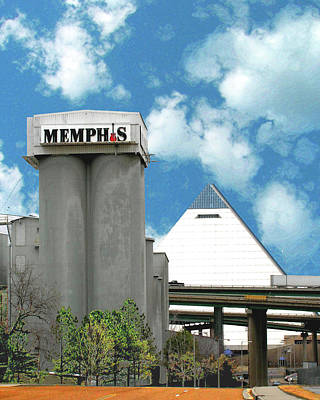Poster featuring the photograph Hello Memphis by Lizi Beard-Ward