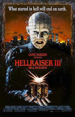 Hellraiser IIi Hell On Earth, Doug Poster by Everett