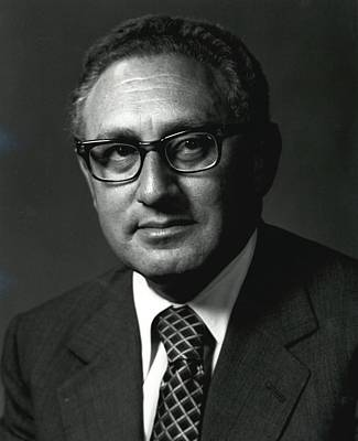 Henry A. Kissinger Was Secretary Poster by Everett