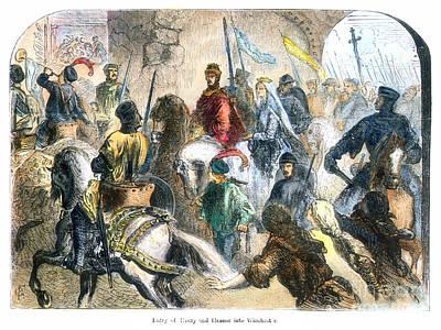 Henry II & Eleanor, 1154 Poster
