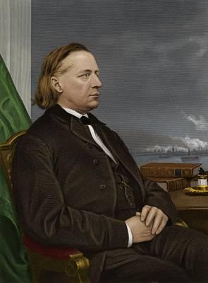 Henry Ward Beecher, Us Social Reformer Poster by Maria Platt-evans