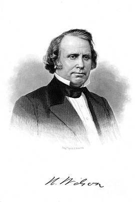 Henry Wilson (1812-1875) Poster by Granger