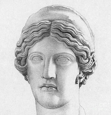 Hera, Greek Goddess Poster by Photo Researchers