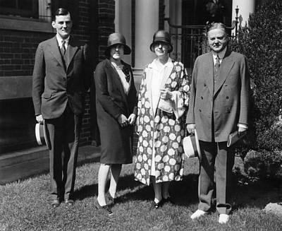 Herbert Hoover Jr., His Wife Margaret Poster