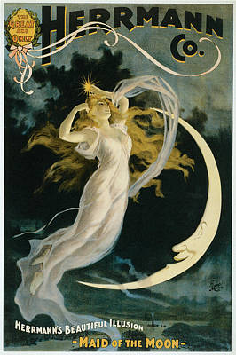 Herrmann Maid Of The Moon Poster by Unknown