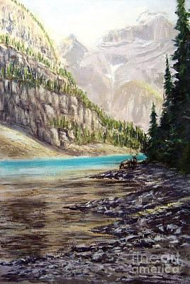 Hidden Gem In The Rockies Poster