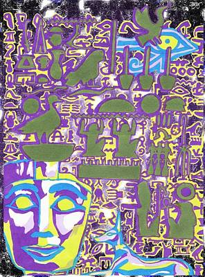 Hieroglyphics Poster by Ben Leary