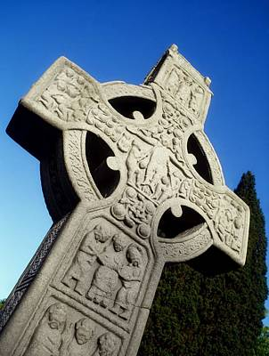High Cross, Monasterboice, Co Louth Poster by The Irish Image Collection