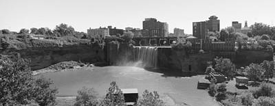 High Falls In Rochester New York Poster by Matthew Green
