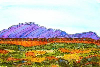 Hills That Nourish Poster
